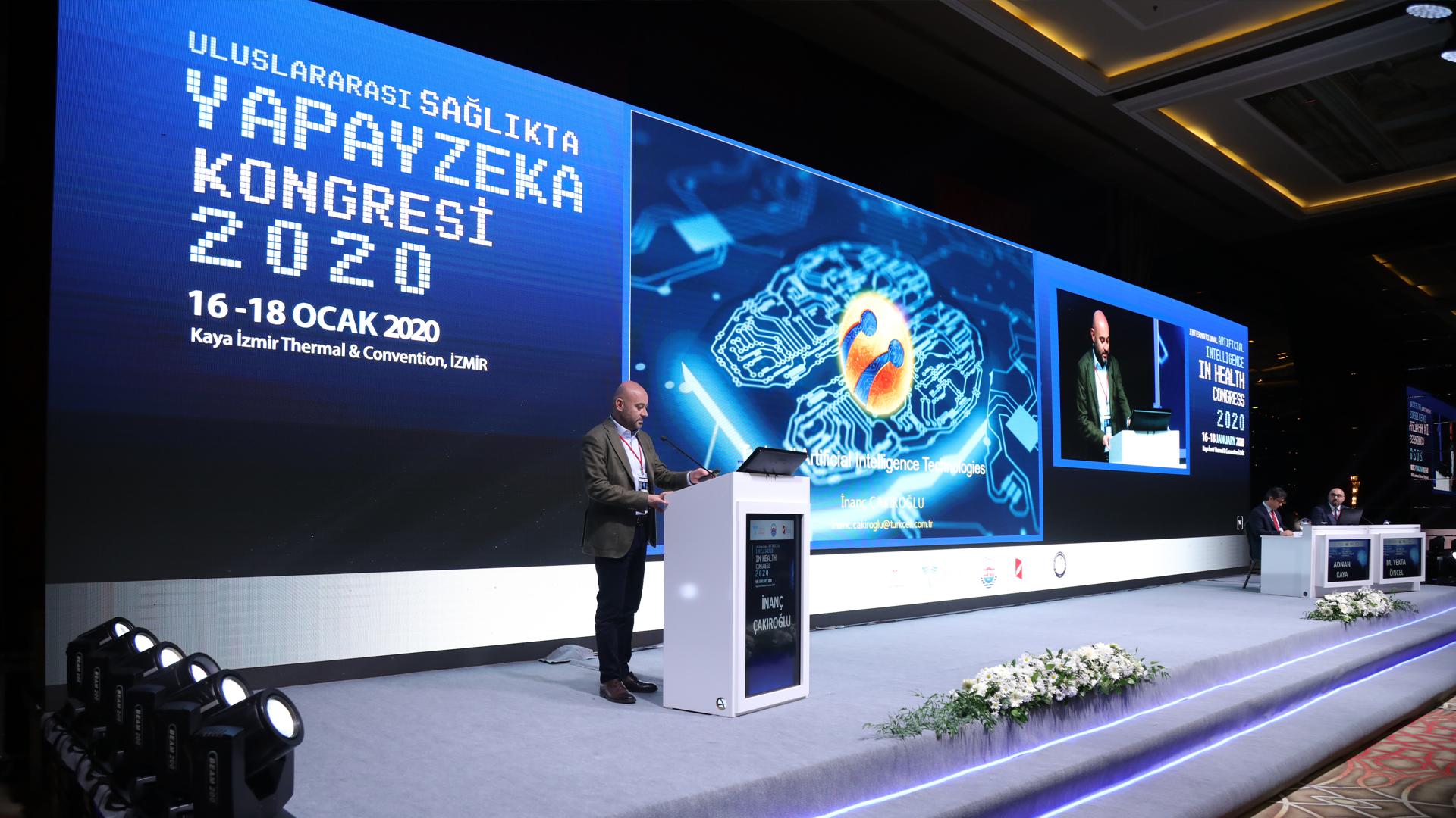 Uluslararası Sağlıkta Yapay Zeka Kongresi